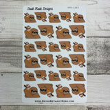 Slater the Sloth Ice Cream Stickers (DPD1249)