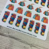Shopping Bag stickers (DPD890)