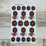 Censored / cover up (Black Woman) stickers (DPD1272a)