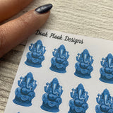 Ganesh stickers (DPD831)