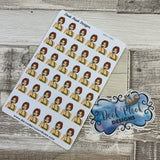 To call pop art gossip stickers (DPD1081)