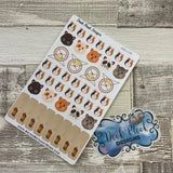 Hamster stickers (DPD158)