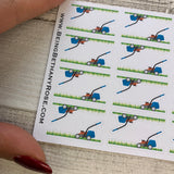 Lawn mower stickers (DPD601)