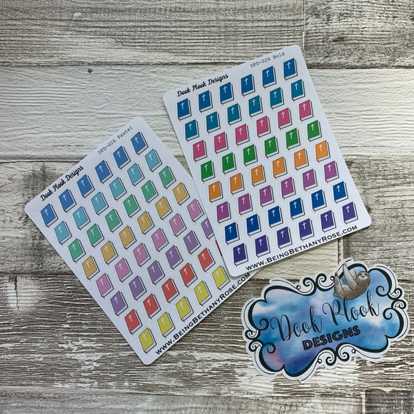Bible stickers (DPD026)