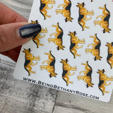 Alsatian stickers (DPD917)