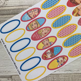 Pop art ultimate Kit for Erin Condren (KIT0021)