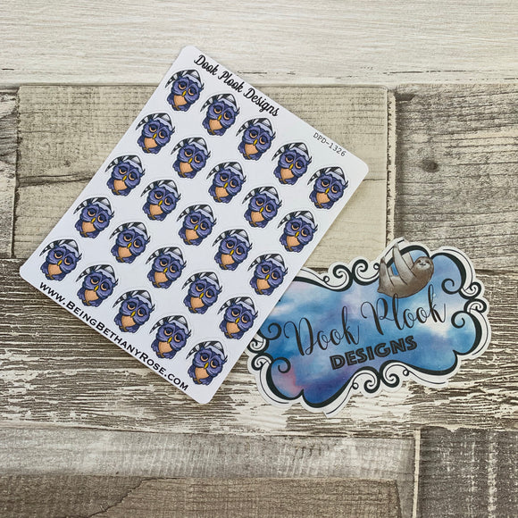Night Owl Stickers (DPD1326)