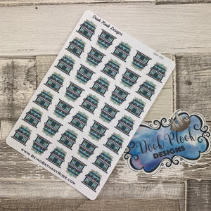 Yarn shop stickers (DPD652)