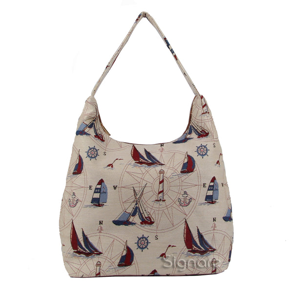 HOBO-YAC | YACHT HOBO HANDBAG SHOULDER BAG - www.signareusa.com