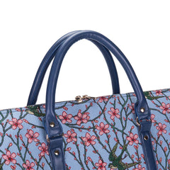 BHOLD-BLOS | Almond Blossom And Swallow Big Holdall/Duffel Bag - www.signareusa.com