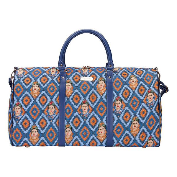 BHOLD-FKICON | Frida Kahlo Big Holdall/Duffel Bag