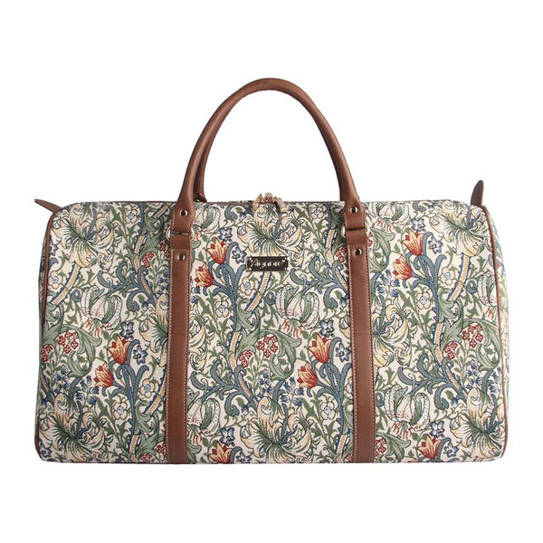 BHOLD-GLILY | William Morris Golden Lily Big Holdall/Duffel Bag - www.signareusa.com