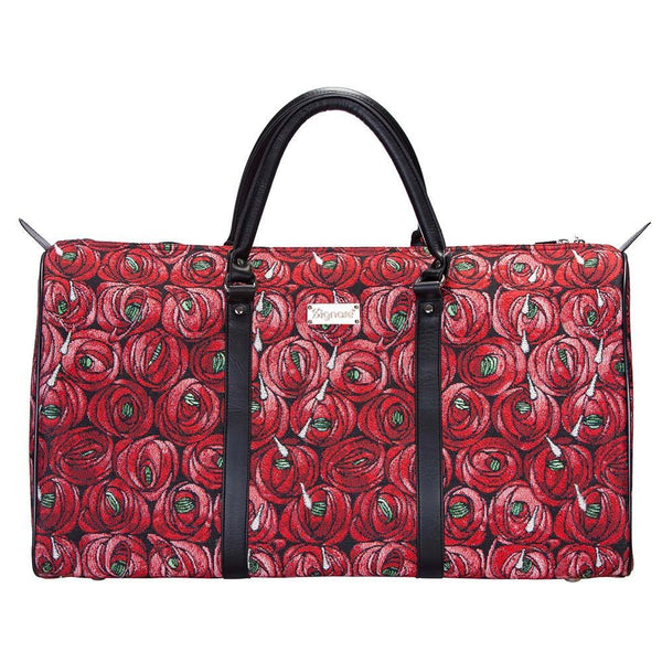 BHOLD-RMTD | Rennie Mackintosh Rose and Teardrop Big Holdall/Duffel Bag - www.signareusa.com