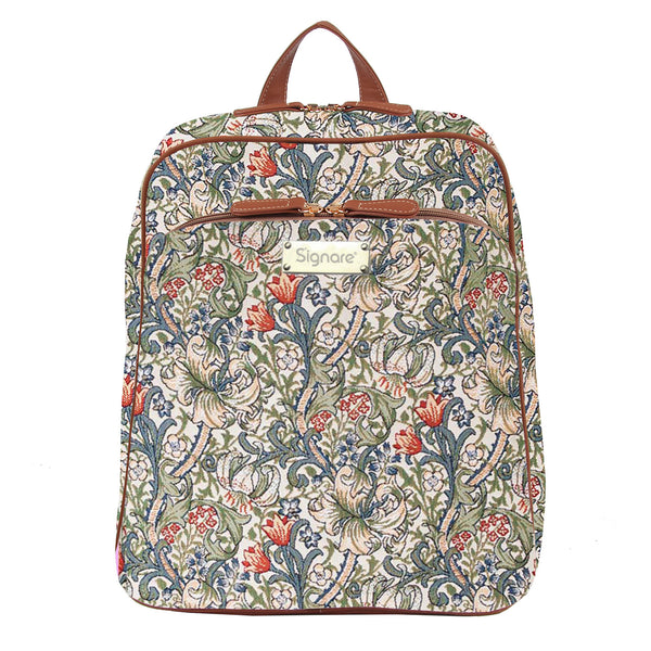 BKPK-GLILY | William Morris Golden Lily Backpack - www.signareusa.com