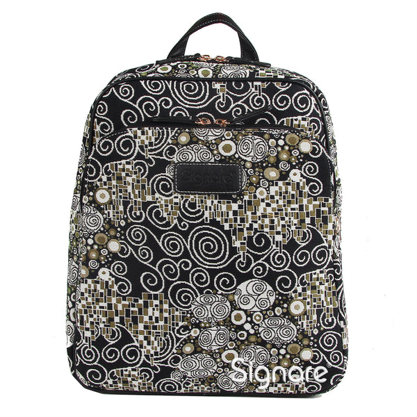 BKPK-KISS | Gustav Klimt The Kiss Backpack - www.signareusa.com