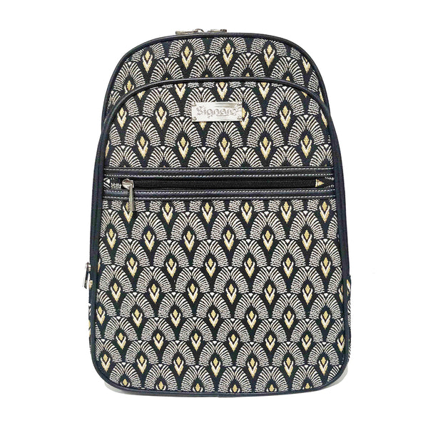 BKPK-LUXOR | BLACK AND WHITE LUXOR Backpack