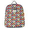 BKPK-MTRI | Multicolor Triangle Backpack - www.signareusa.com
