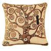 CCOV-ART-KLIMT-2 | Gustav Klimt Tree of Life Pillowcase/CUSHION COVER | DECORATIVE DESIGN FASHION HOME PILLOW 18X18 INCH - www.signareusa.com