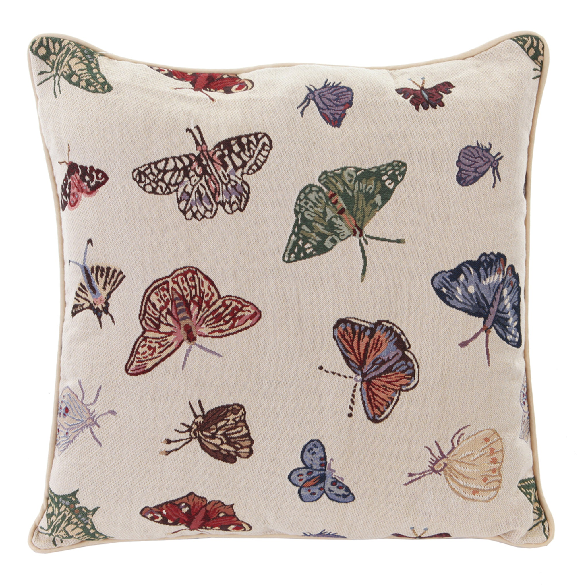 CCOV-BUTT| BUTTERFLY PILLOWCASE/CUSHION COVER | DECORATIVE DESIGN FASHION HOME PILLOW 18X18 INCH - www.signareusa.com