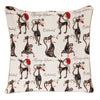 CCOV-CUDE | MARILYN ROBERTSON CATITUDES PILLOWCASE/CUSHION COVER | DECORATIVE DESIGN FASHION HOME PILLOW 18X18 INCH - www.signareusa.com