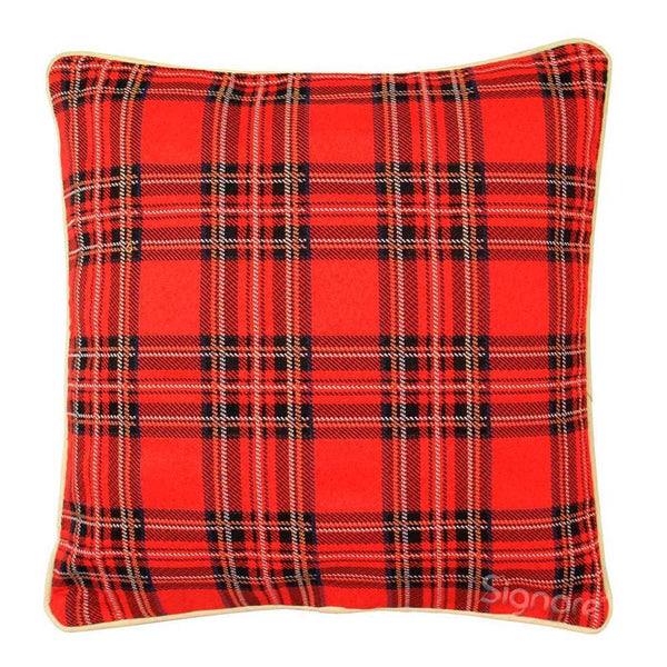 CCOV-RSTT | ROYAL STEWART TARTAN PILLOWCASE/CUSHION COVER | DECORATIVE DESIGN FASHION HOME PILLOW 18X18 INCH - www.signareusa.com
