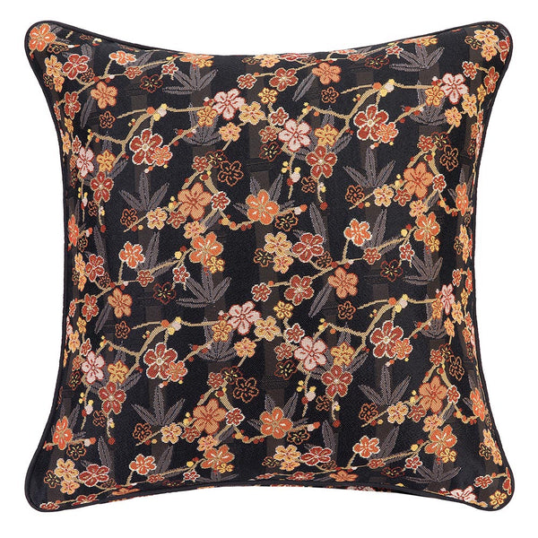 CCOV-SAKURA | UME SAKURA TAPESTRY PILLOWCASE/CUSHION COVER 18X18 INCH - www.signareusa.com