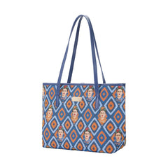 COLL-FKICON | Frida Kahlo College/Shoulder Tote Bag