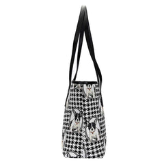 COLL-FREN | French Bulldog College/Shoulder Tote Bag - www.signareusa.com