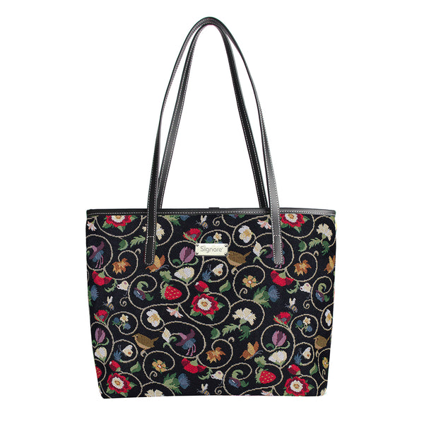 COLL-JACOB | Jacobean Dream College/Shoulder Tote Bag