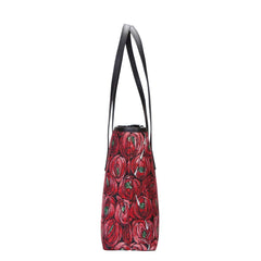 COLL-RMTD | Mackintosh Rose and Teardrop College/Shoulder Tote Bag - www.signareusa.com