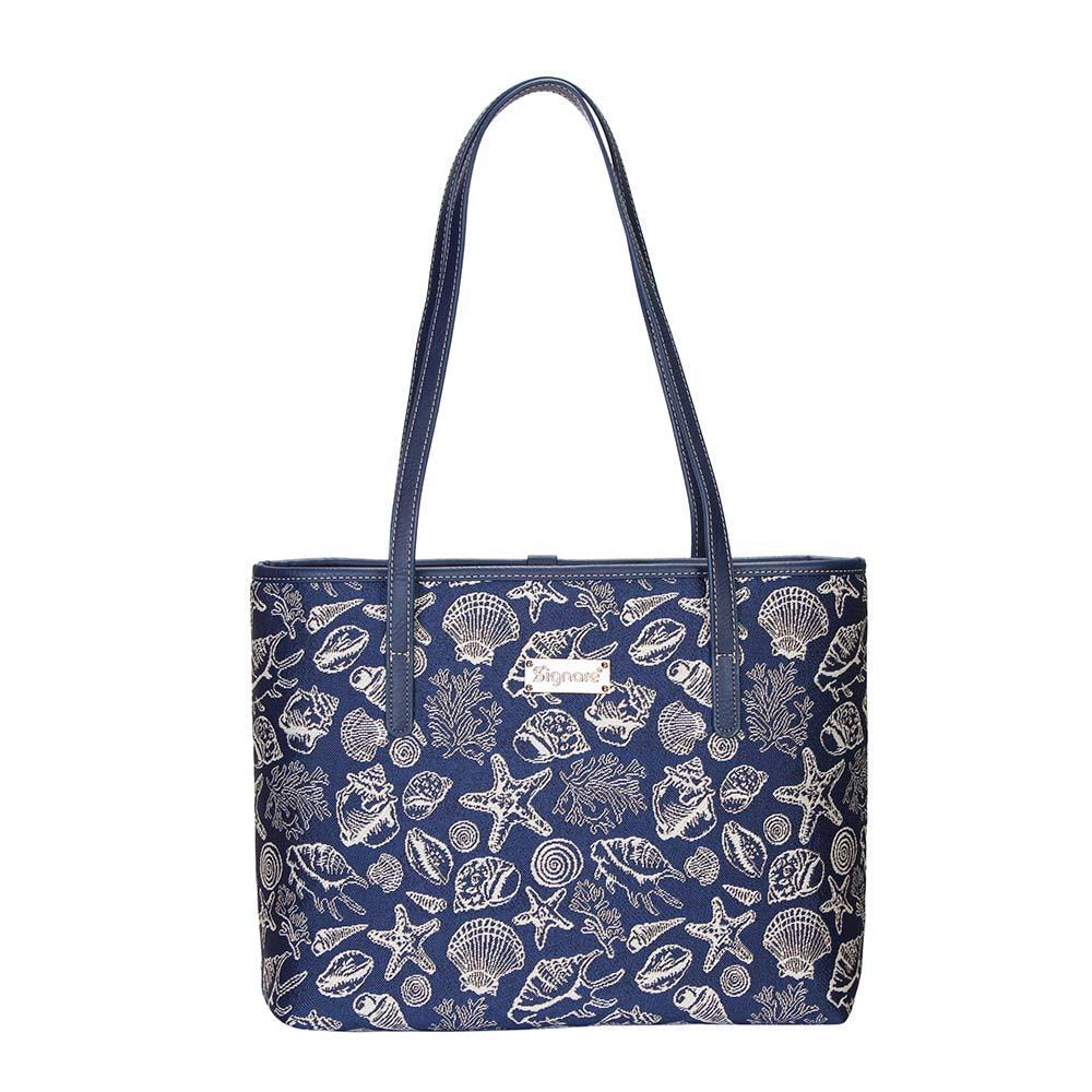 COLL-SHELL | Sea Shell College/Shoulder Tote Bag - www.signareusa.com