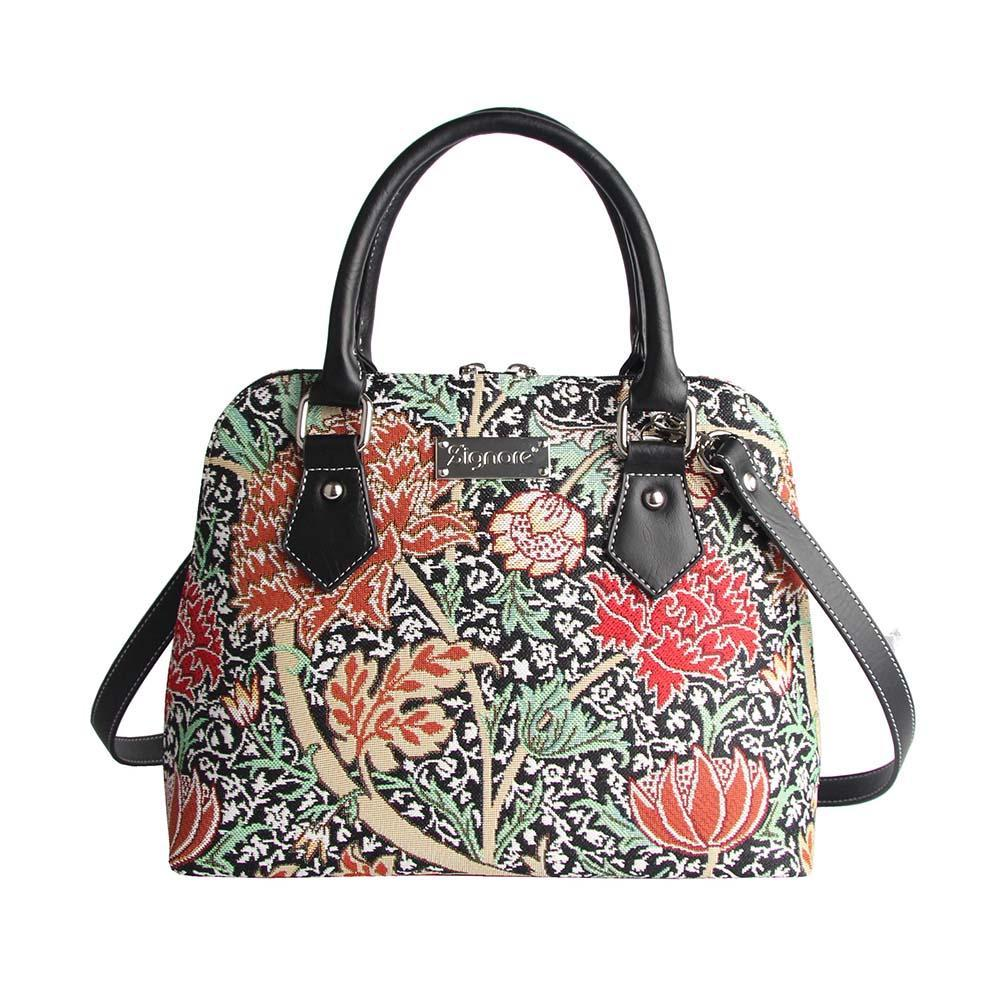 CONV-CRAY | William Morris The Cray Convertible Top Handle Purse Handbag - www.signareusa.com