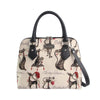 CONV-CUDE | Marilyn Robertson Catitudes Convertible Top Handle Purse Handbag - www.signareusa.com