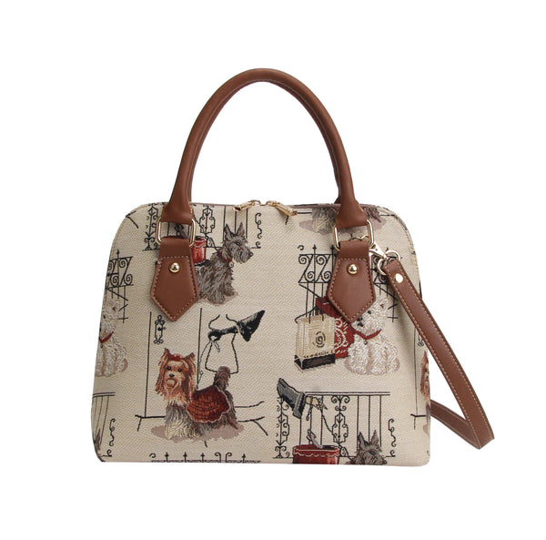 CONV-FSDG | Fashion Dog Top Handle Purse Handbag - www.signareusa.com