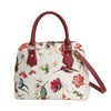 CONV-HUMM | Hummingbird Convertible Top Handle Purse Handbag - www.signareusa.com