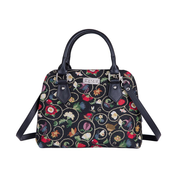 CONV-JACOB | Jacobean Dream Convertible Top Handle Purse Handbag - www.signareusa.com