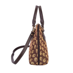 CONV-JANE | Jane Austen's Oak Convertible Top Handle Purse Handbag - www.signareusa.com