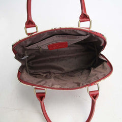 CONV-LDBD | Ladybug Convertible Top Handle Purse Handbag - www.signareusa.com