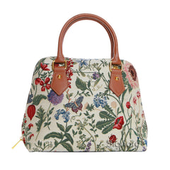 CONV-MGD | Morning Garden Convertible Top Handle Purse Handbag - www.signareusa.com