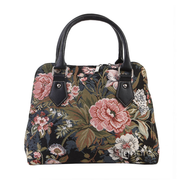 CONV-PEO | Peony Convertible Top Handle Purse Handbag - www.signareusa.com
