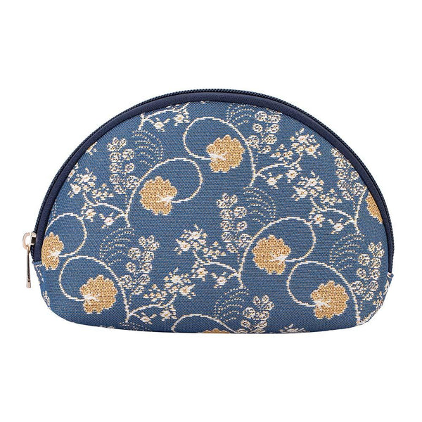 COSM-AUST | Jane Austen's Blue Cosmetic Make Up Bag - www.signareusa.com