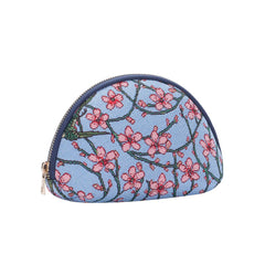 COSM-BLOS | ALMOND BLOSSOM AND SWALLOW Cosmetic Make Up Bag - www.signareusa.com