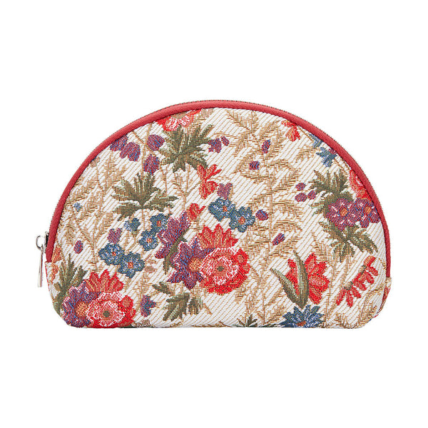 COSM-FLMD | Flower Meadow Cosmetic Make Up Bag - www.signareusa.com