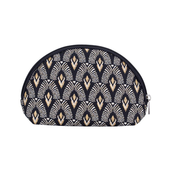 COSM-LUXOR | Black And White Luxor Cosmetic Make Up Bag - www.signareusa.com