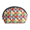 COSM-MTRI | Multicolor Triangle Cosmetic Make Up Bag - www.signareusa.com