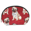 COSM-PUG | Pug Dog Cosmetic Make Up Bag - www.signareusa.com