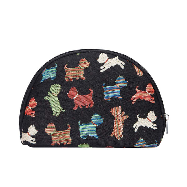 COSM-SCOT | Scottie Dog Cosmetic Make Up Bag - www.signareusa.com