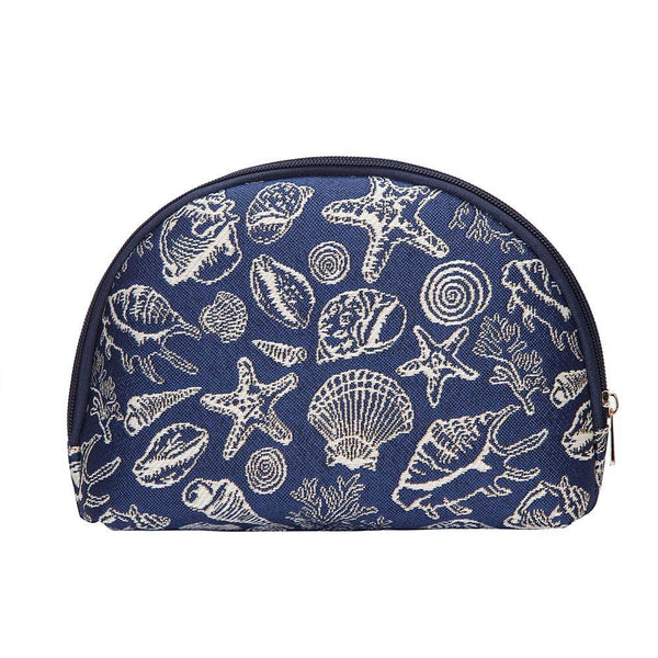 COSM-SHELL | Sea Shell Cosmetic Make Up Bag - www.signareusa.com