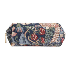 COSM-STBL | William Morris Strawberry Thief Blue Cosmetic Make Up Bag - www.signareusa.com
