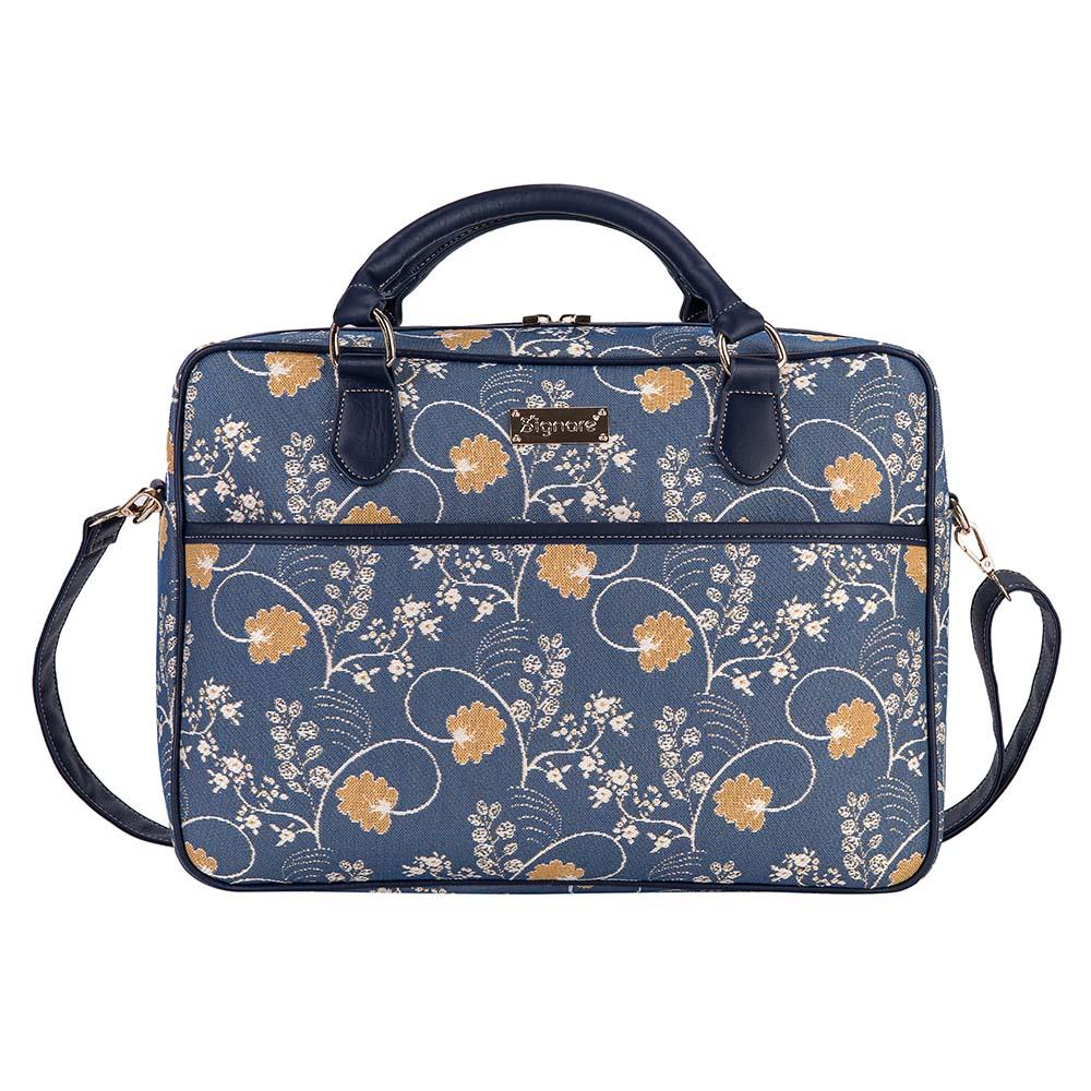 "CPU-AUST | Jane Austen's Blue Computer Laptop Bag Case 15.6"" - www.signareusa.com"